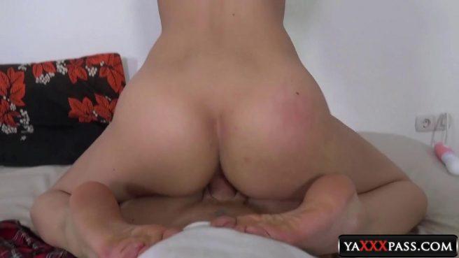 Студентка отсасывает член до и после грубого секса с мужиком #9