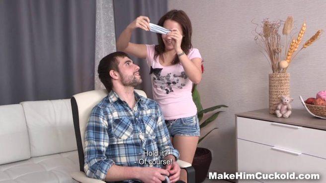 Девка жестко наказала своего похотливого парня за измену #3