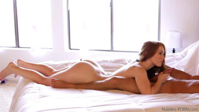 Телка с мелкими сиськами захотелось секса с самого утра #4
