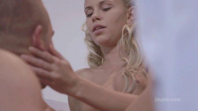 Нежный секс с блондинкой вместо утреннего кофе #4