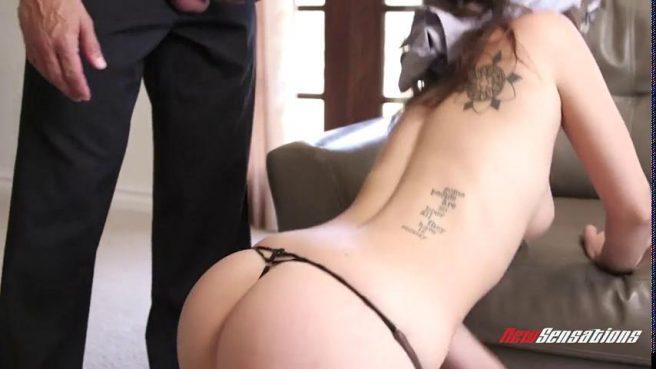Глубокий отсос и грубый секс с невестой на диване #2